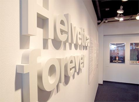 Helvetica-Exhibition
