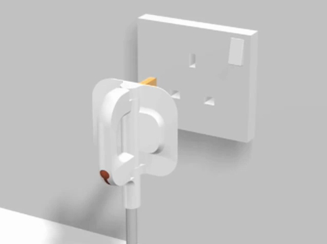 Folding-Plug
